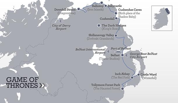 juego de tronos, irlanda del norte,viaje, turismo