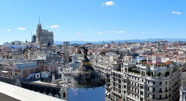 Mis azoteas favoritas de Madrid 2016