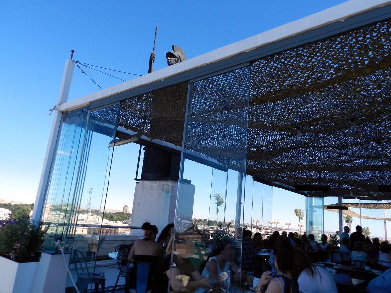 circulo bellas artes madrid tartan roof