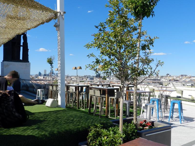 mejores terrazs de madrid 2021 circulo bellas artes chill out