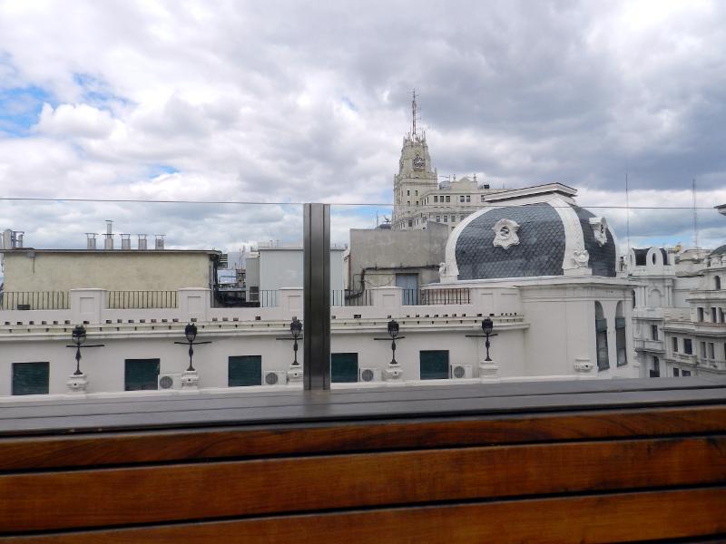azoteas madrid hotel iberostar las letras vistas