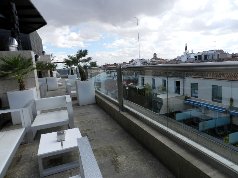 terraza hotel urban madrid azotea