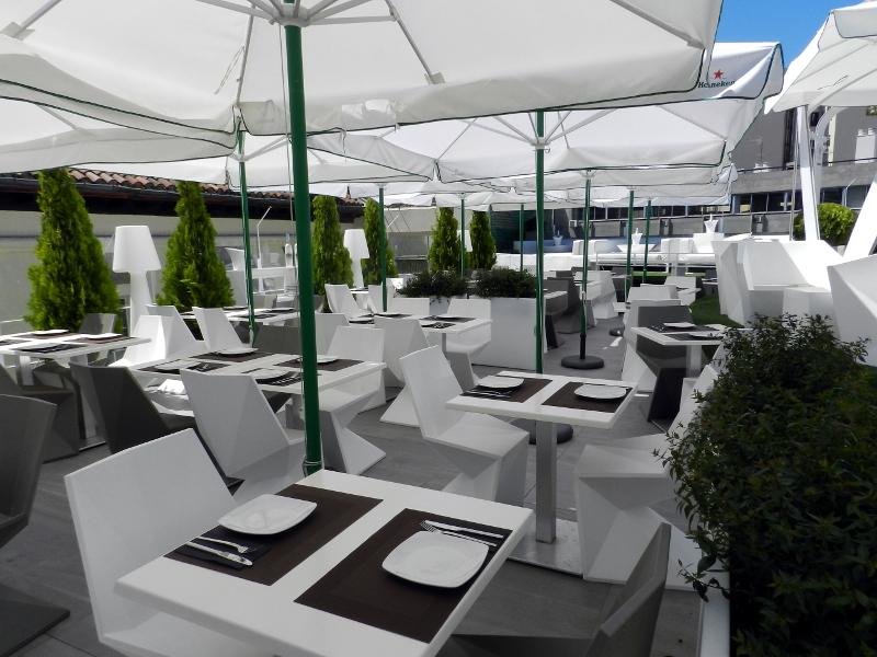 terraza gymage restaurante