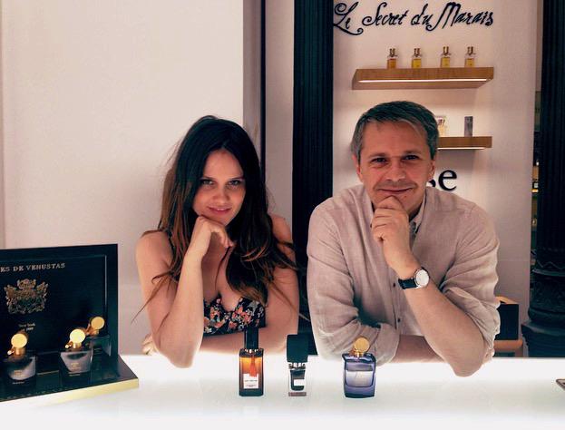 mairén muñoz le secret du marais perfume personalizado