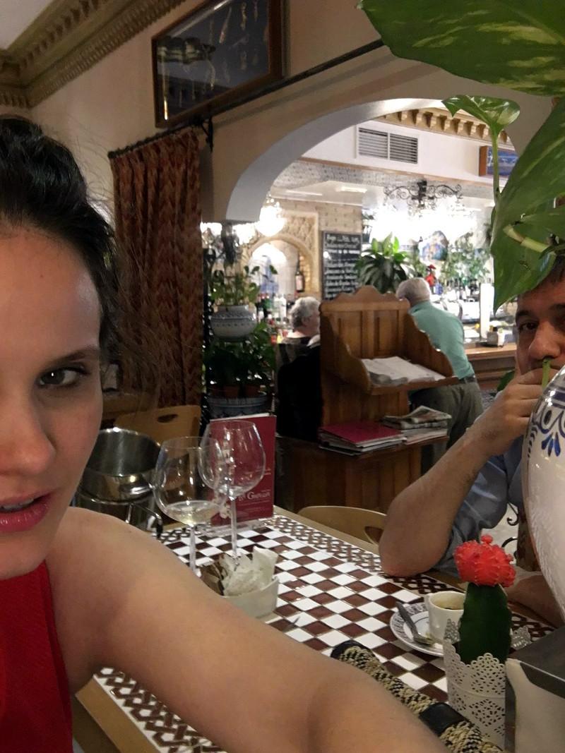 fuego mairen muñoz restaurante la giralda madrid