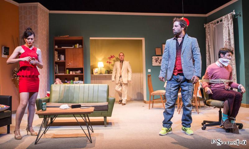 el secuestro comedia fran nortes teatro