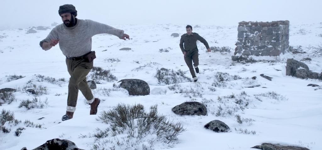 el destierro pelicula nieve frio
