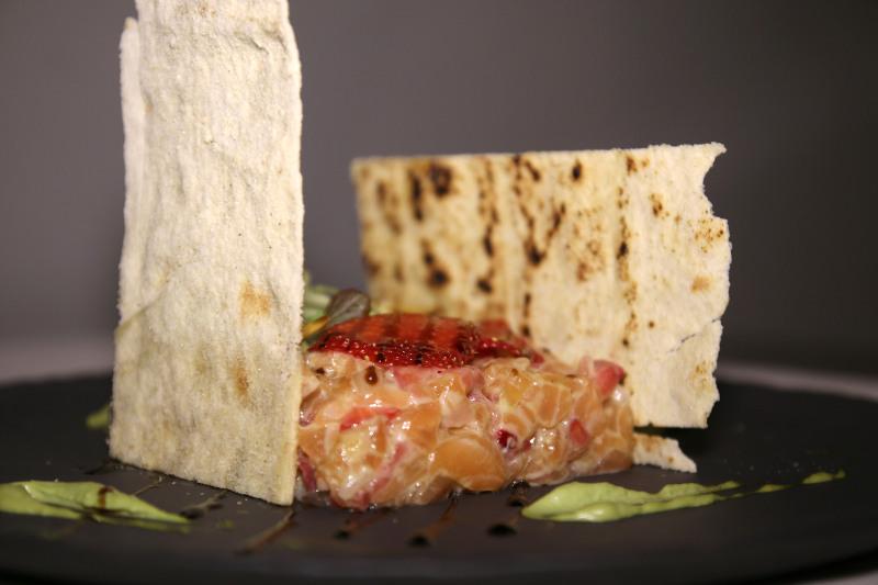 el abrazo de vergara restaurante carta tartar salmon