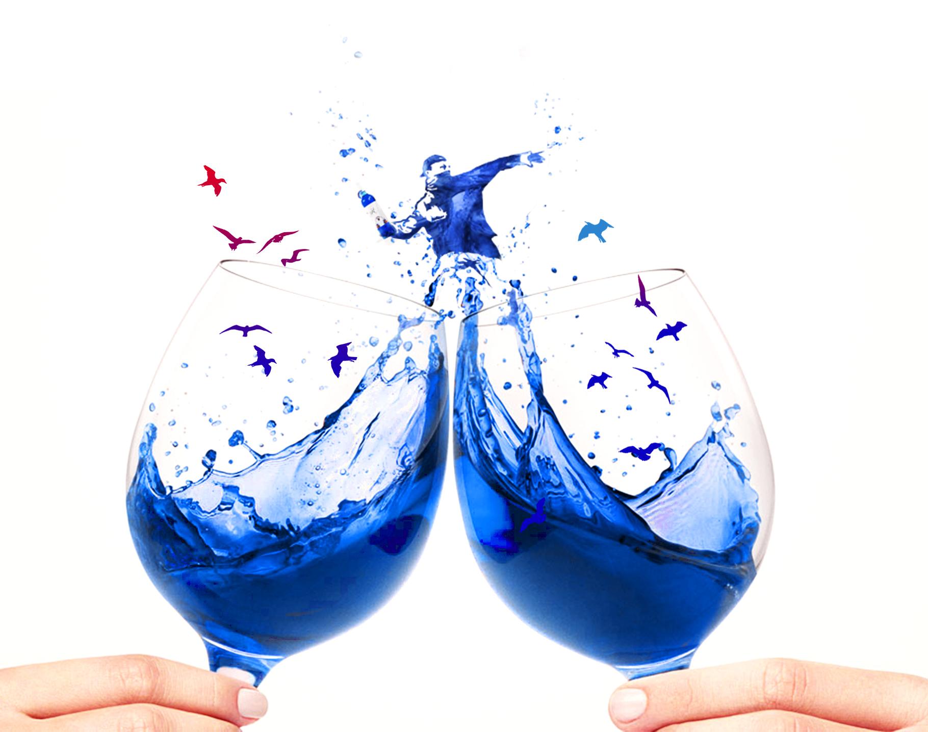vino azul gik blue