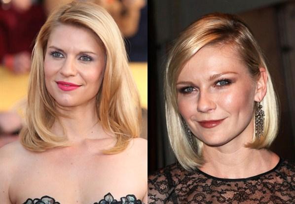 actores y actrices que se parecen clarire daines kirsten dunst