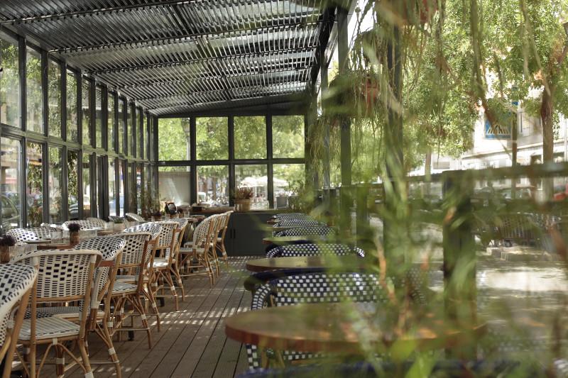 Terraza De La Taberna Pedraza Restaurantes De Madrid