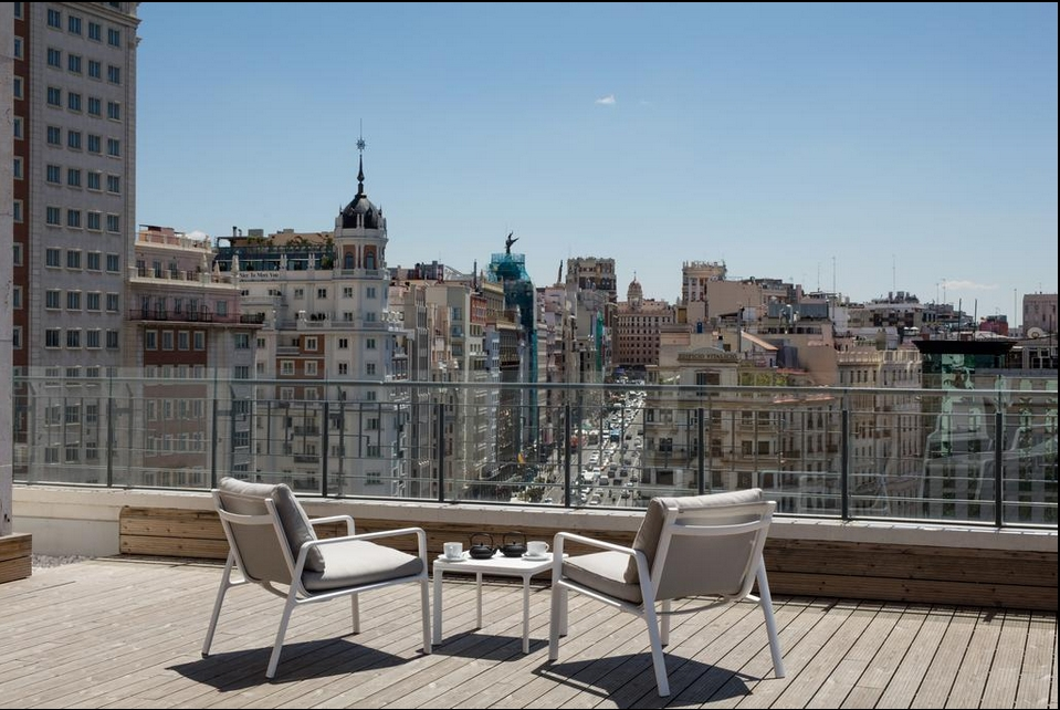 hoteles para cinéfilos madrid barceló