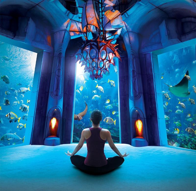razones para visitar dubái yoga