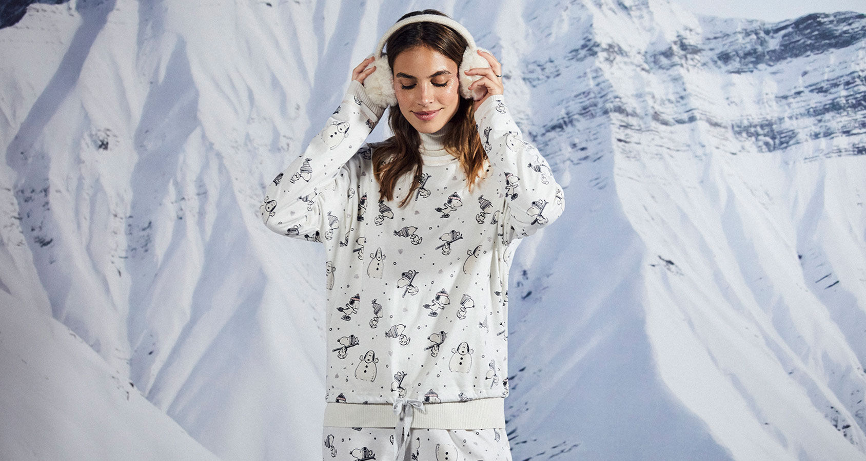 women secret pijamas de mujer snoopy